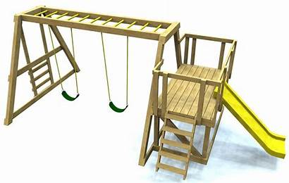 Plans Diy Wooden Slide Playground Swing Monkey