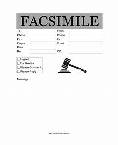 legal fax cover sheet at freefaxcoversheetsnet With fax cover sheet to judge