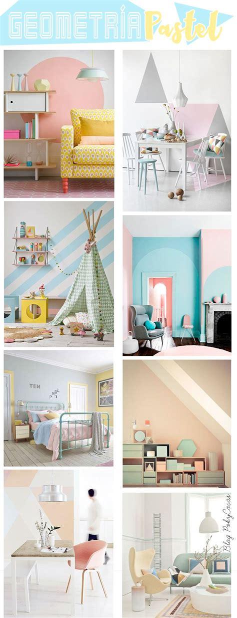 Decora tus muros con figuras geométricas Room paint