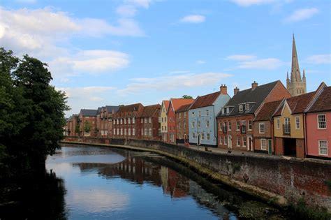 overlooked cities  england norwich bon voyage lauren