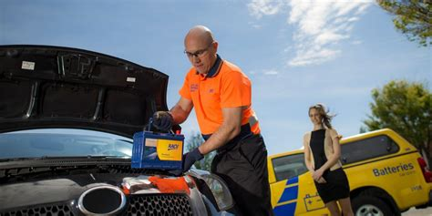 mobile car battery replacement service racv