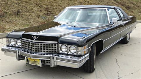 surviving in style 1974 cadillac coupe deville
