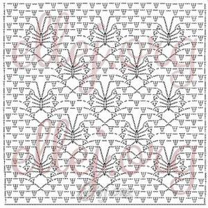 Ergahandmade  Crochet Stitch   Diagram   Pattern Step By