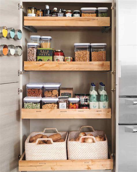 kitchen pantry shelf ideas 10 best pantry storage ideas martha stewart