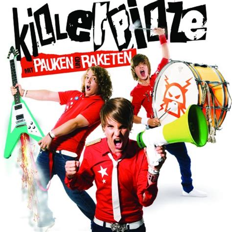 Killerpilze  Mit Pauken Und Raketen  Cover Album Bild