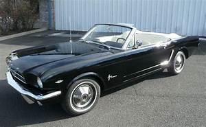 Raven Black 1965 Ford Mustang Convertible - MustangAttitude.com Photo Detail