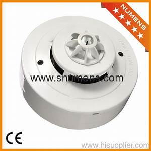 4 Wire Output Smoke And Heat Combined Detector From China