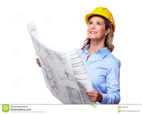 house design blogs architect with a plan royalty free stock images