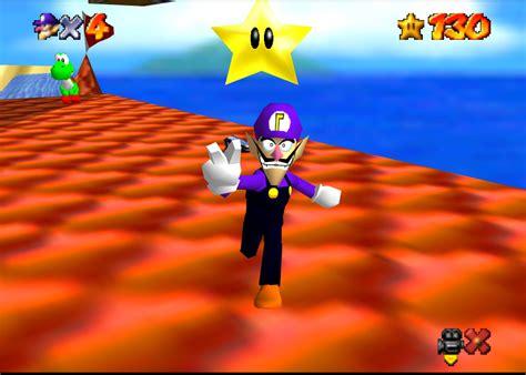 Super Waluigi 64 Super Mario 64 Skin Mods