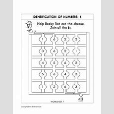 Number Recognition Worksheets & Activities  Kindergarten Worksheets  Preschool Number