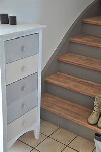 escaliers pge blanche n11 smile With commentaire repeindre un escalier en bois 12 couleur pour cheminee