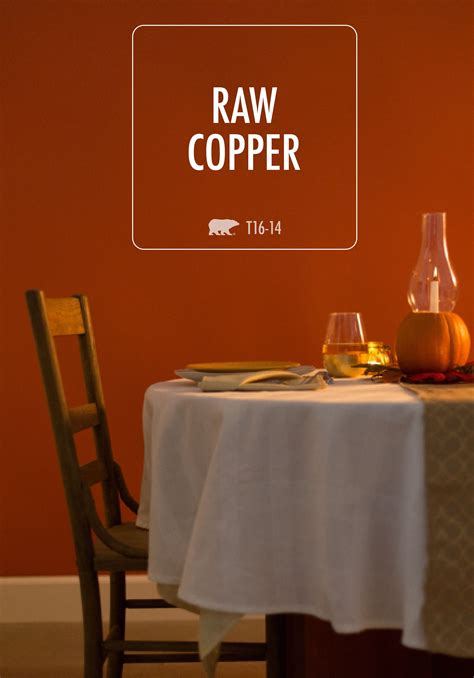 copper behr paint is sure to take center stage in your
