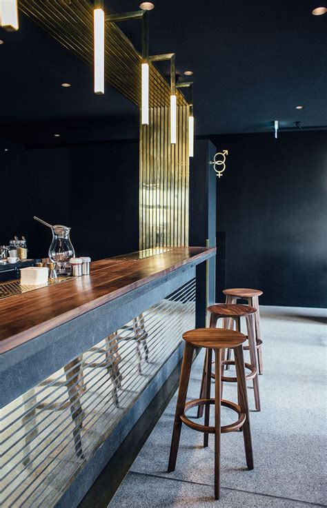 Modern Bar by Mid Century Timeless Elegance Stands Out At This Modern
