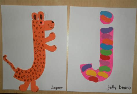 letter j crafts preschool and kindergarten 356 | free alphabet letter j printable crafts