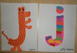 letter j crafts preschool and kindergarten With letter art j