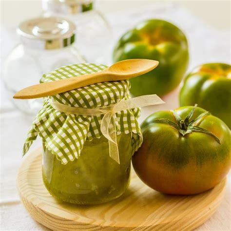 cuisiner des tomates vertes recette confiture de tomates vertes