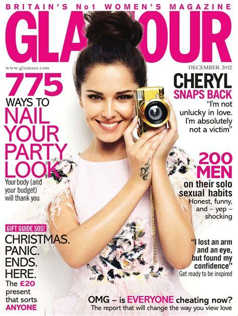 Cheryl Cole In Glamour Magazine, Uk Decemeber 2012 Issue
