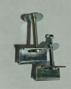 Weather Guard Tool Box Clamp 2 Clamps 7733
