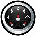 Dashboard Icon Icons Mac Button Gloss Transparent