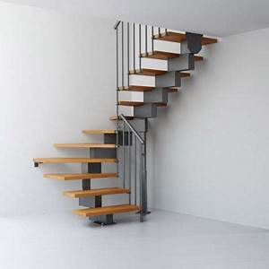 Escalier En U : escalier en u magia 90 gris fonte clair castorama ~ Farleysfitness.com Idées de Décoration