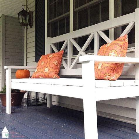 version   ana white large porch bench   large