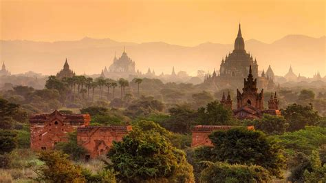 Hd Landscape Wallpapers 1080p Bagan Myanmar Wallpapers High Quality Download Free