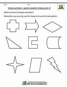 Tessellations in geometry 1 for Tessellating shapes templates