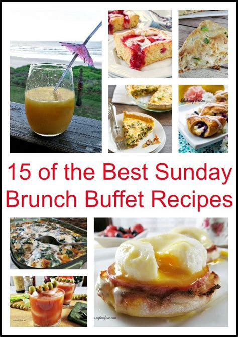 Beautiful Breakfast Recipes by 15 Of The Best Sunday Brunch Buffet Recipes Breakfast