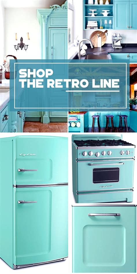 The Retro Kitchen Appliance Product Line  Click!, Colors