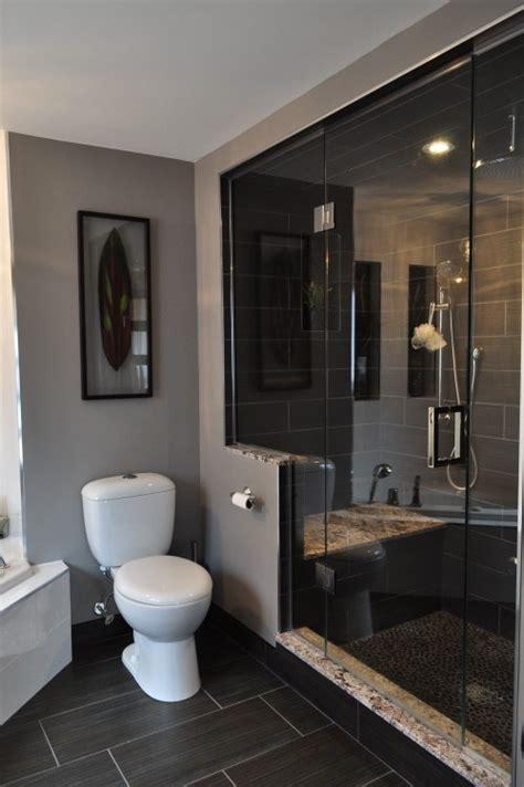Badezimmer Fliesen Dunkel by 39 Grey Bathroom Floor Tiles Ideas And Pictures