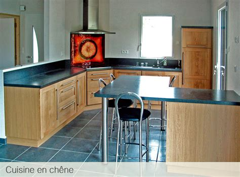 cuisine chene moderne davaus cuisine moderne bois chene avec des idées