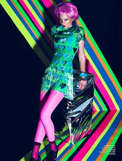 Neon Colors Editorial Sexyqueen Lexeecouture Shoot Photoshoot