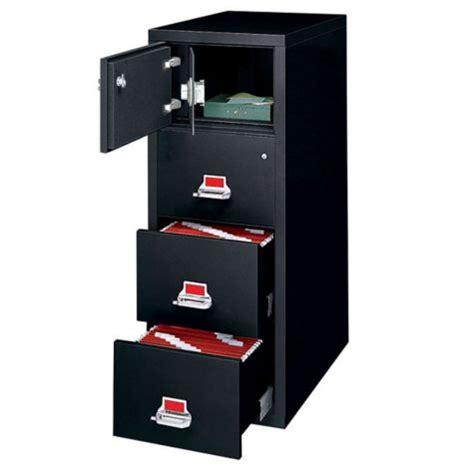 fireking fireproof 3 drawer vertical file w safe