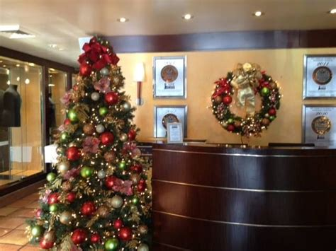 office reception area christmas decorations pinterest