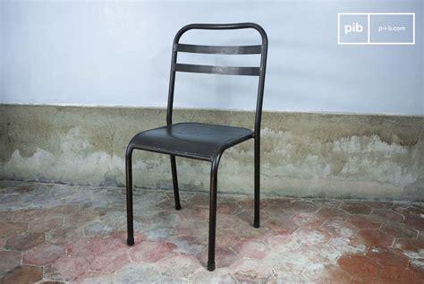 chaise design luxembourg le style vintage du m 233 tal