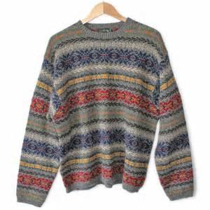 vintage 90s j crew 39 s wool ski sweater the sweater shop