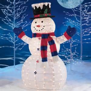 snowman outdoor lights 12 ways to make your christmas different with unique and distinguished