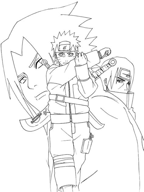 naruto coloring pages minister coloring