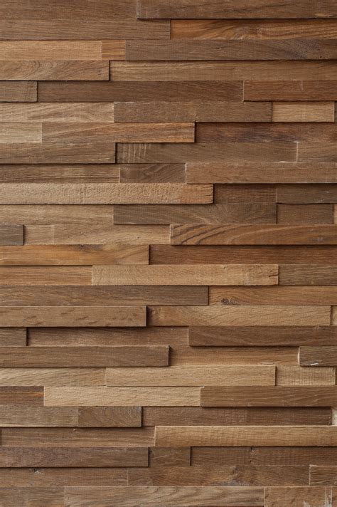 Wand In Holzoptik by Reclaimed Engineered Oak Cladding The New