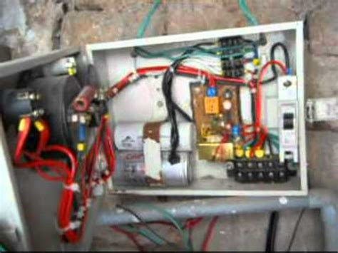 Automatic Starter For Submersible Pump Youtube