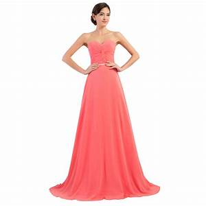 aliexpresscom buy hot sale sweetheart coral colored With plus size wedding party dresses