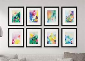 Gallery wall free printables download all colourful