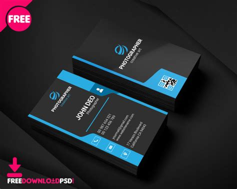 simple graphic designer business card
