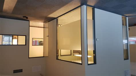 office partition glazing systems  offices bentech