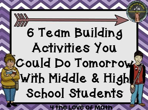 6 team building activities you could do tomorrow