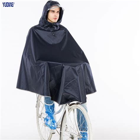 bicycle raincoat yuding rain poncho polyester bicycle thick raincoat