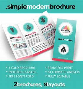 Brochure zafira pics indesign brochure templates for Indesign pamphlet template