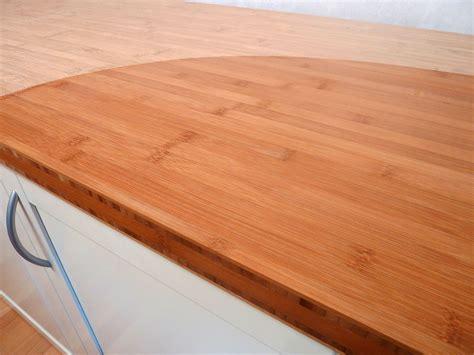 Arbeitsplatte  Küchenarbeitsplatte Bambus Horizontal