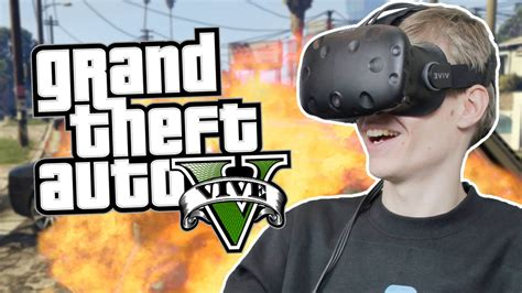 gta vr play vive htc grand headset theft auto reality virtual game cardboard oculus rift any