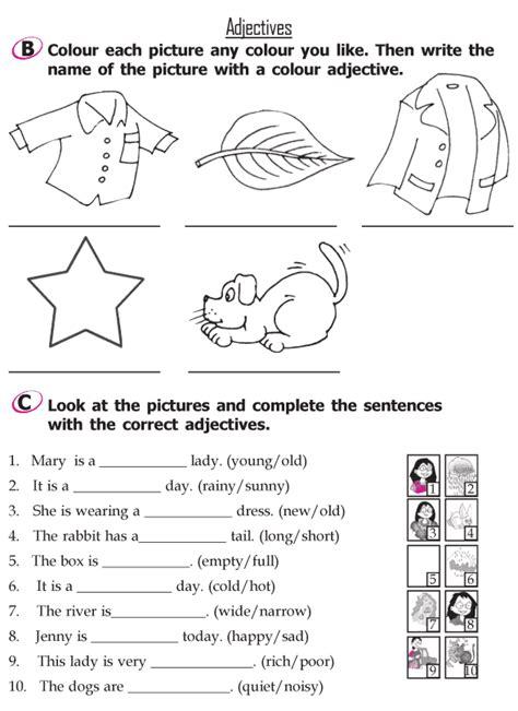 Grade 2 Grammar Lesson 9 Adjectives (2)  Grade 2 Grammar Lessons 119  Pinterest Grammar